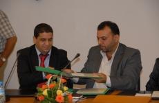 توقيع اتفاقية مع اتحاد كتاب المغرب- صور