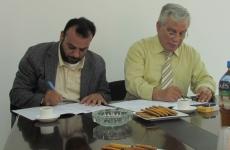 توقيع اتفاقية مع جامعة القدس المفتوحة