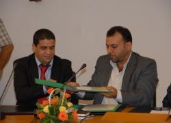 توقيع اتفاقية مع اتحاد كتاب ...