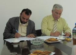 توقيع اتفاقية مع جامعة القدس ...