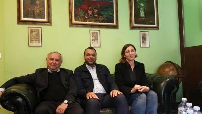 السوداني يلتقي رئيس إتحاد كتاب إيطاليا في روما وتفعيل إتفاق التعاون بأربع أنطولوجيات مترجمة للايطالية ومختارات لمحمود درويش